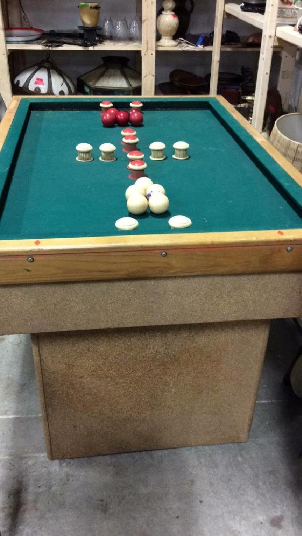 Vintage Bumper Pool Table - 10