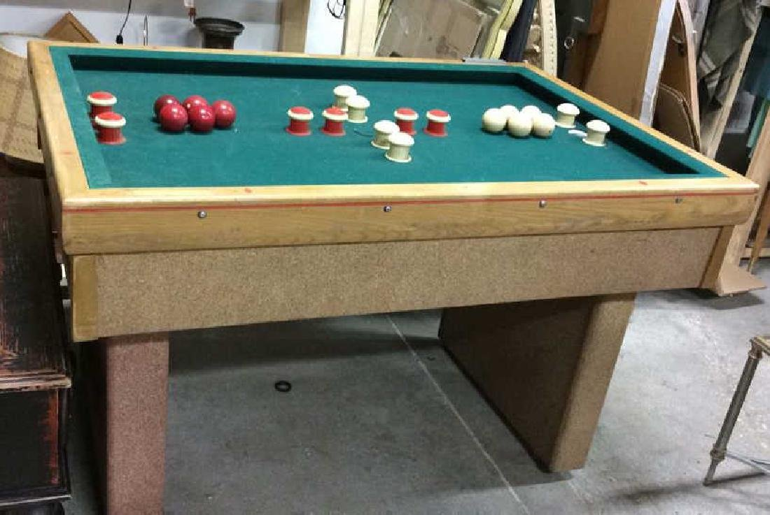 Vintage Bumper Pool Table