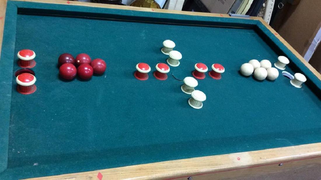 Vintage Bumper Pool Table - 2