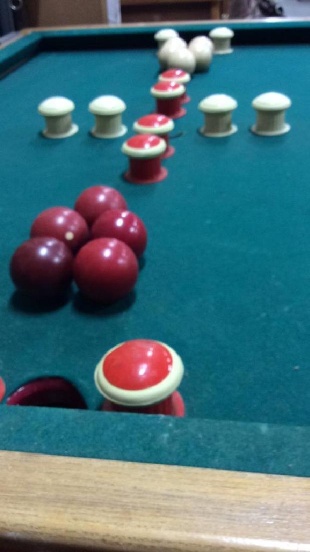 Vintage Bumper Pool Table - 3