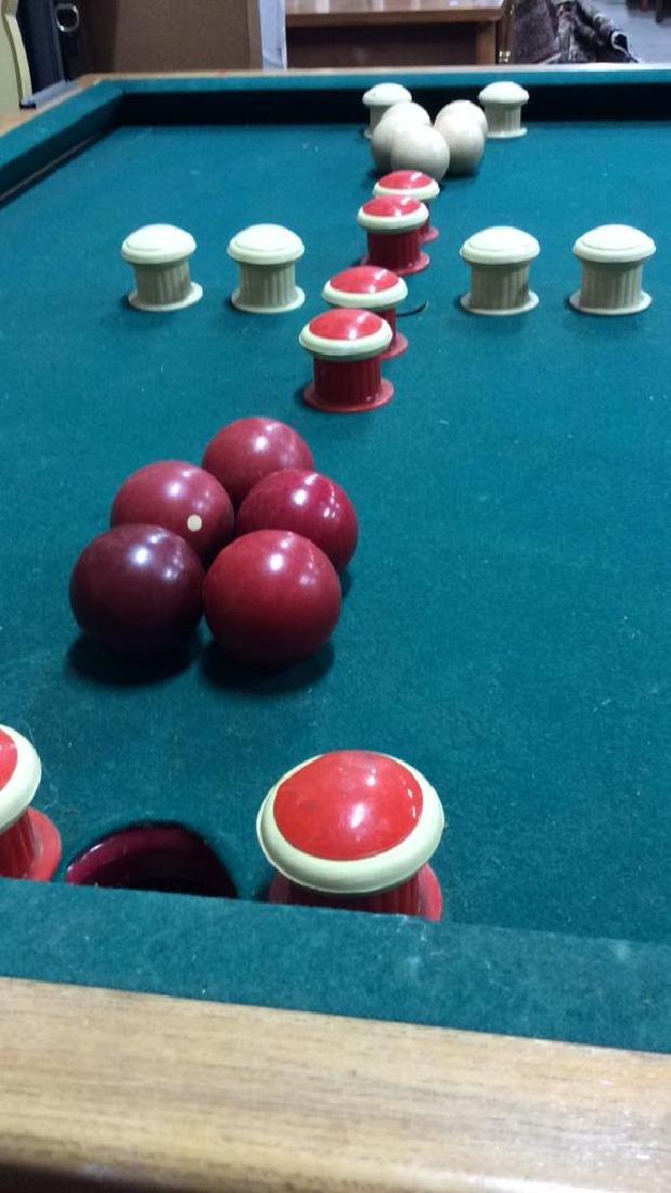 Vintage Bumper Pool Table - 4