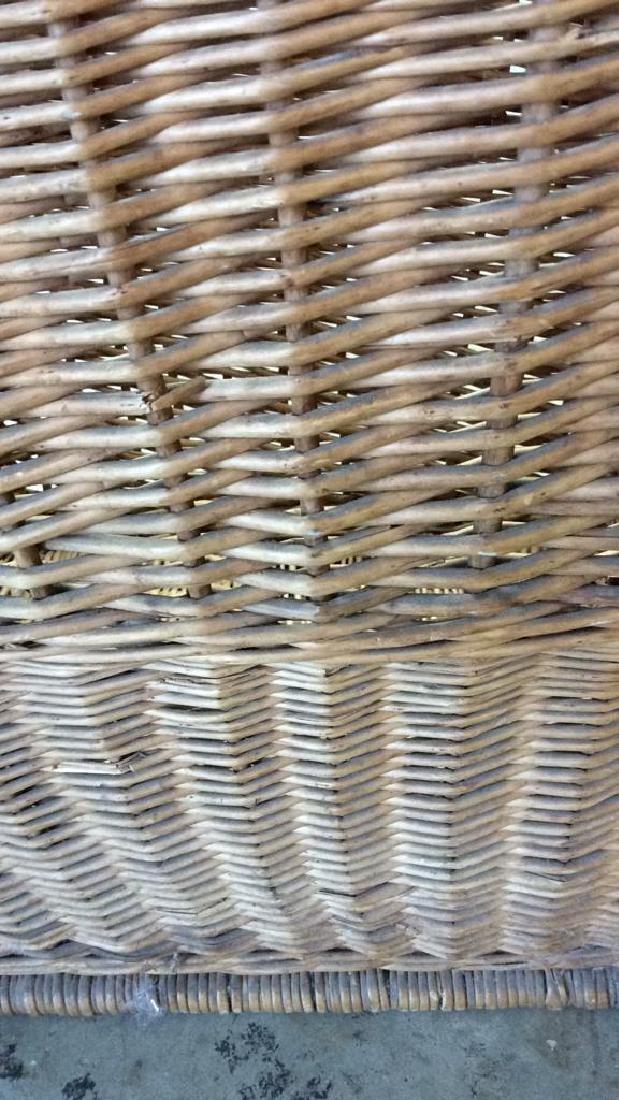 Woven Whicker Basket Planter Pail - 7