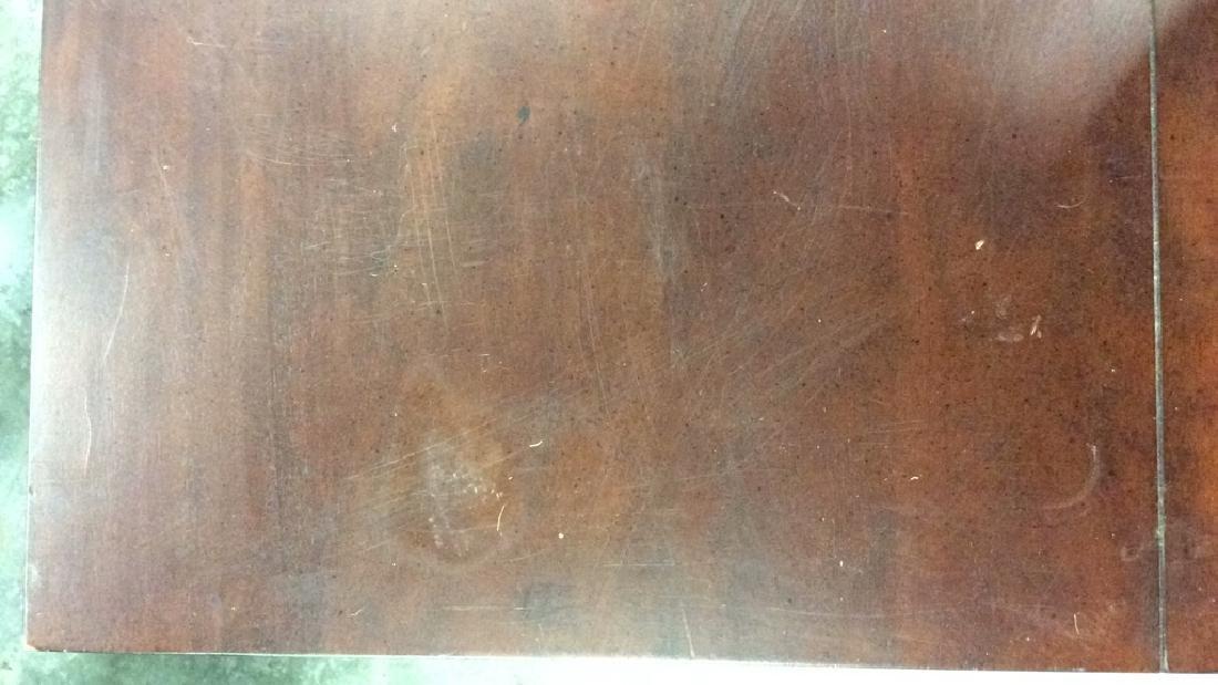 Dark Wooden Filing Cabinet Side Table - 5