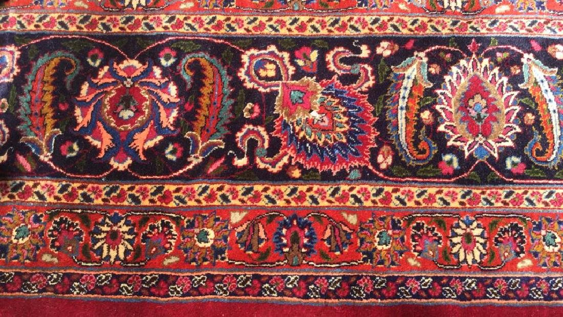 Hand Made Wool Oriental Carpet Room Size, MASHAD Rug - 5