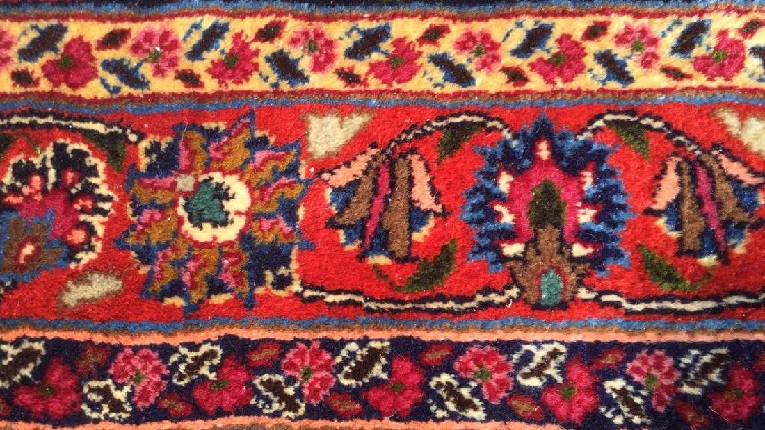 Hand Made Wool Oriental Carpet Room Size, MASHAD Rug - 6
