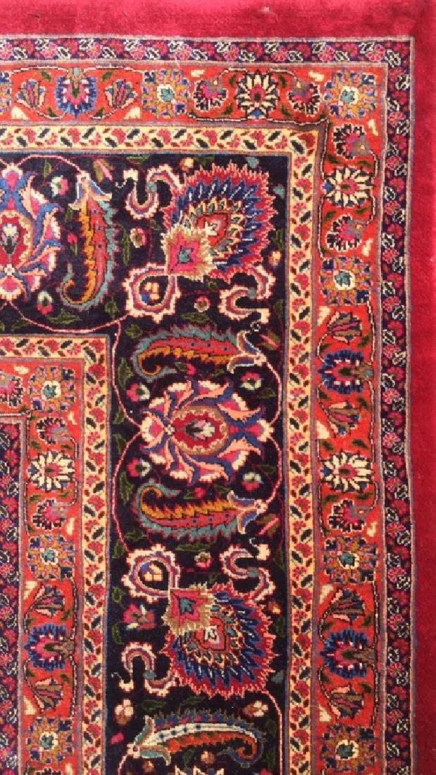 Hand Made Wool Oriental Carpet Room Size, MASHAD Rug - 8