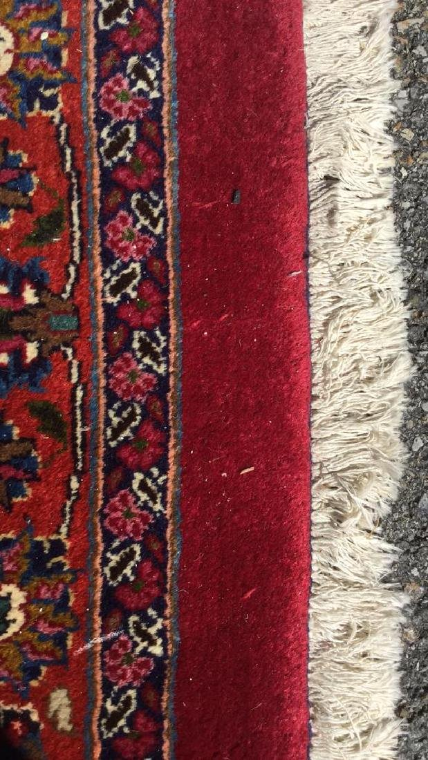 Hand Made Wool Oriental Carpet Room Size, MASHAD Rug - 9