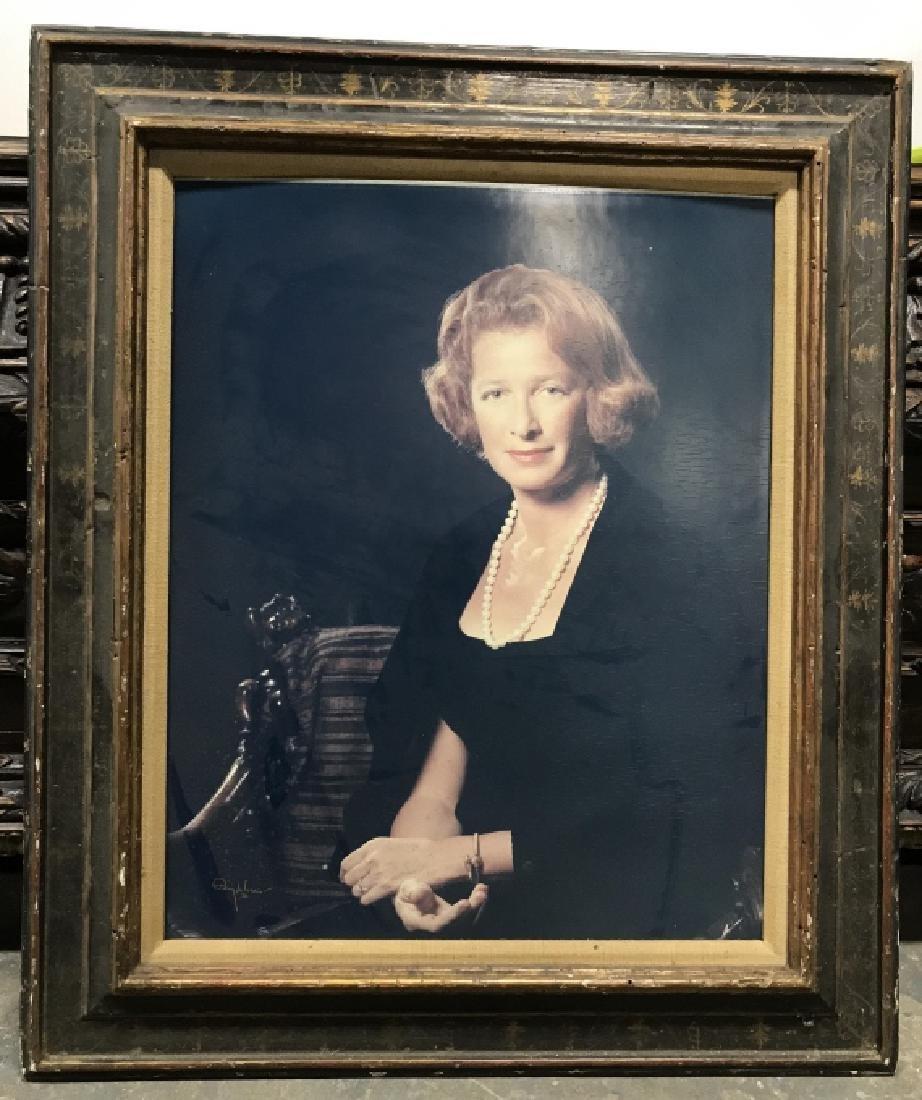 Vintage Framed Photo Portrait Print
