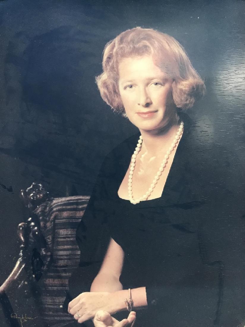 Vintage Framed Photo Portrait Print - 2