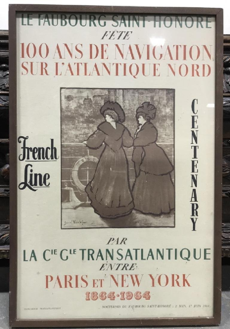 Le Faubourg Saint-Honore Framed Poster