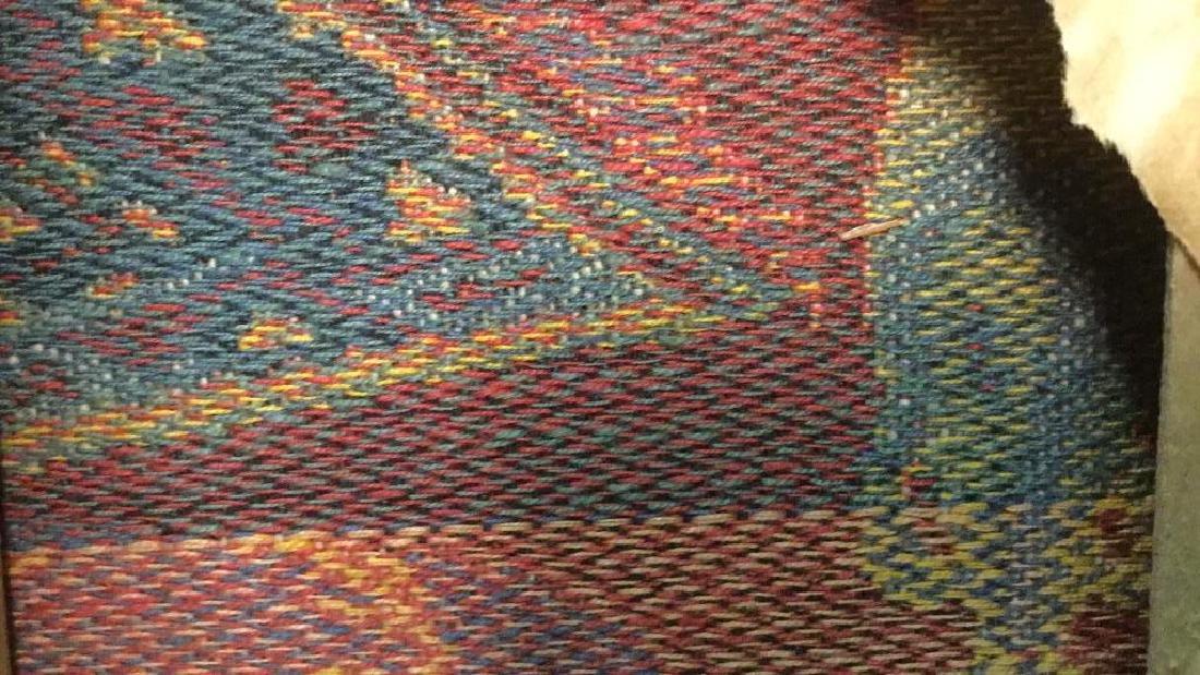 Framed Vintage French Tapestry - 11