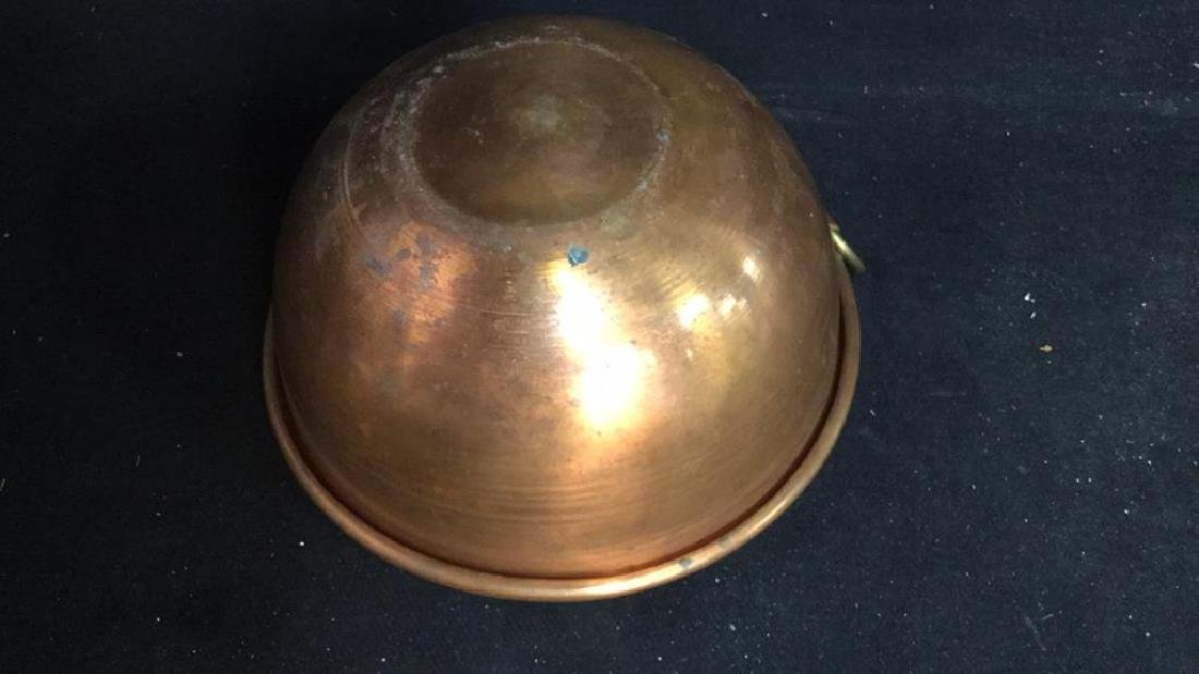 French Copper Mixing Bowl - 7