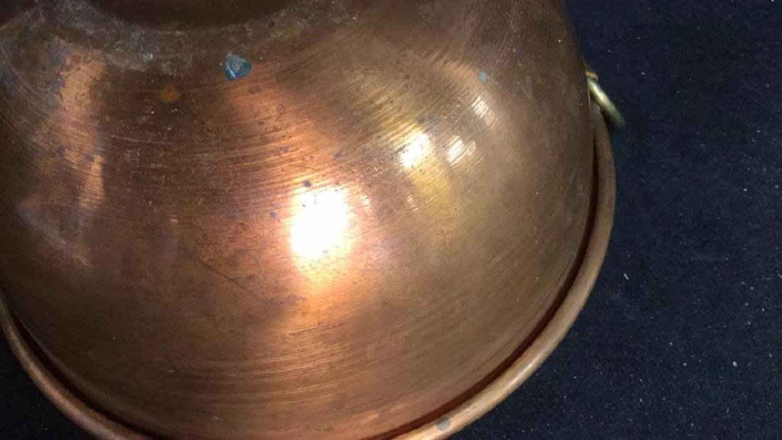 French Copper Mixing Bowl - 9