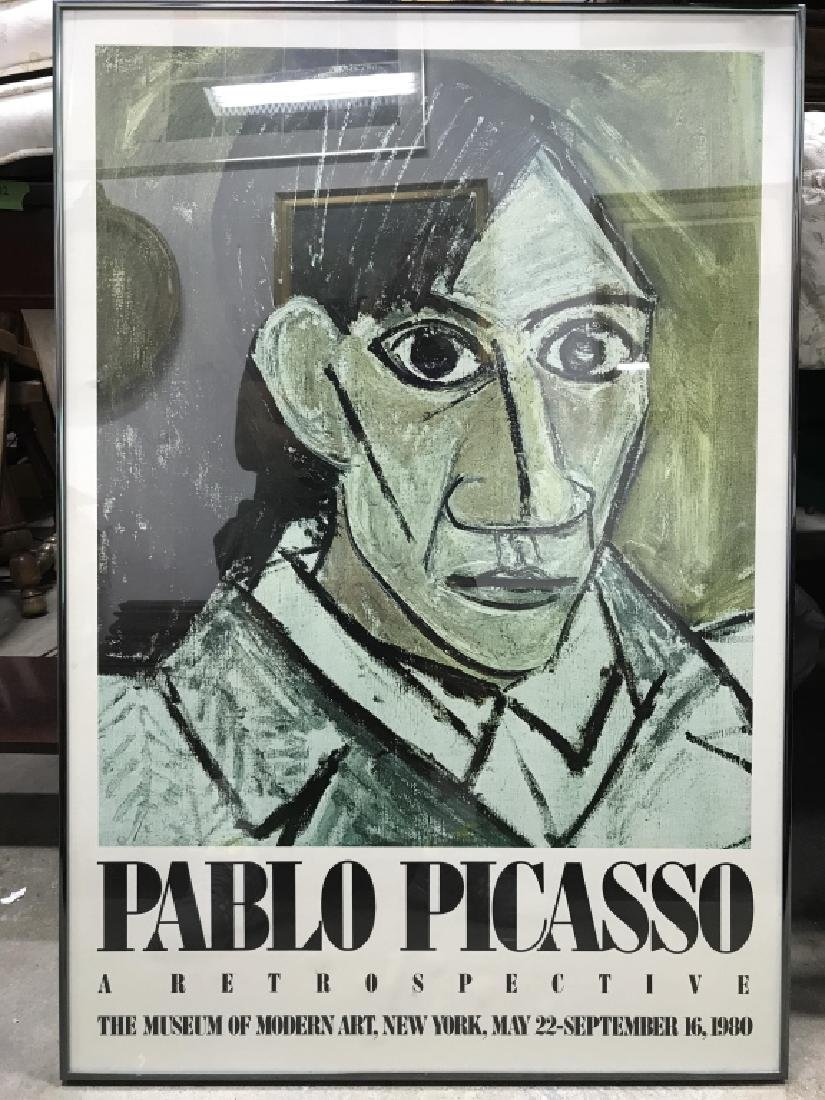 PABLO PICASSO Framed MOMA Exhibition Poster