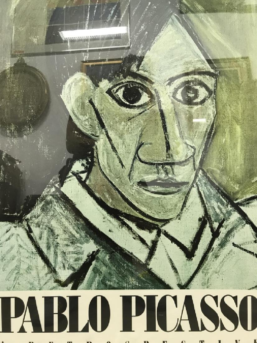 PABLO PICASSO Framed MOMA Exhibition Poster - 2