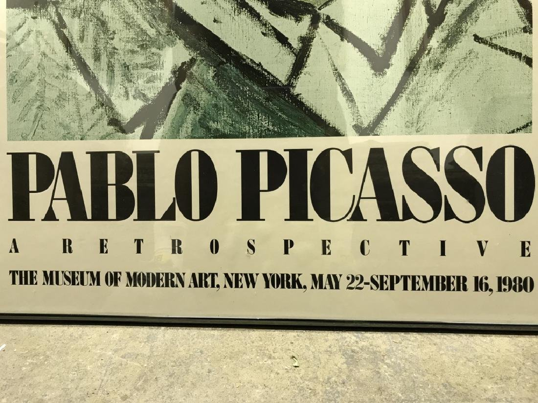 PABLO PICASSO Framed MOMA Exhibition Poster - 6