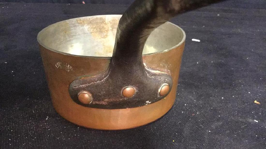 French Copper and Cast Iron Pot - 6