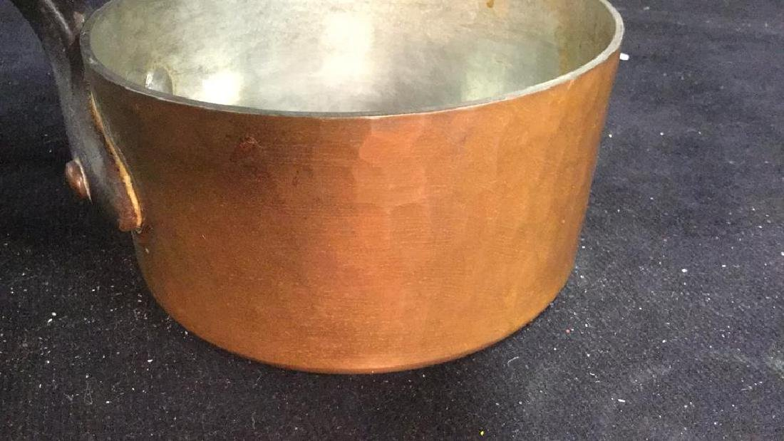 French Copper and Cast Iron Pot - 8