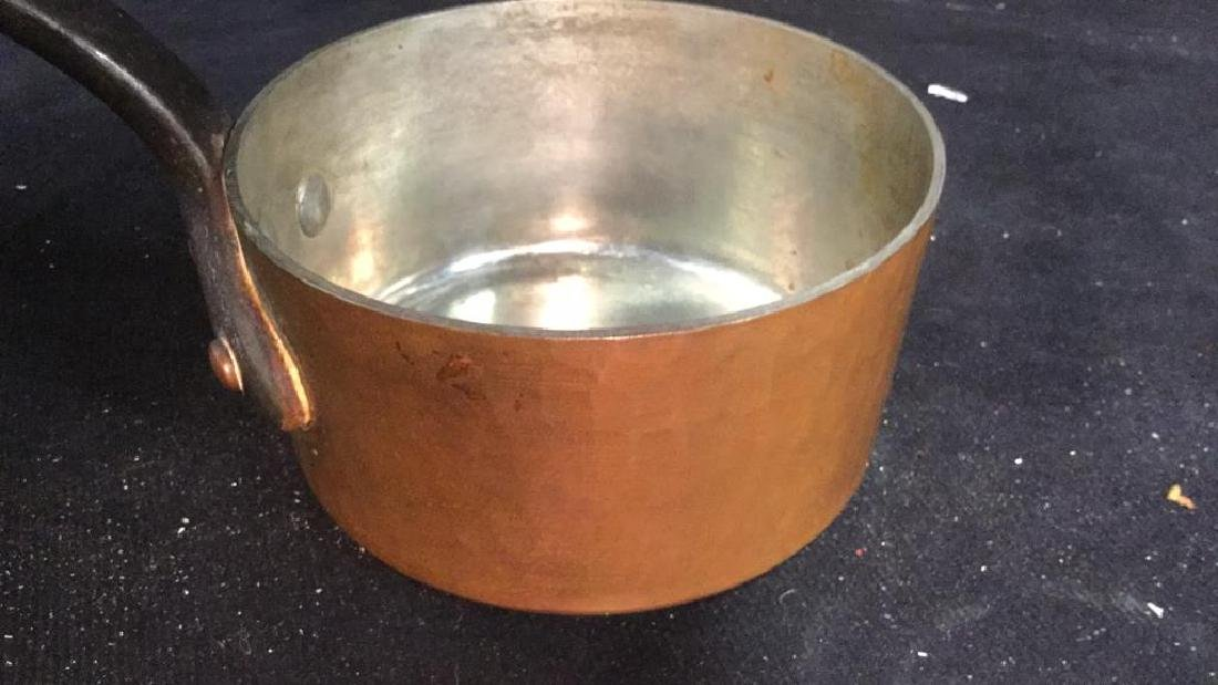 French Copper and Cast Iron Pot - 9