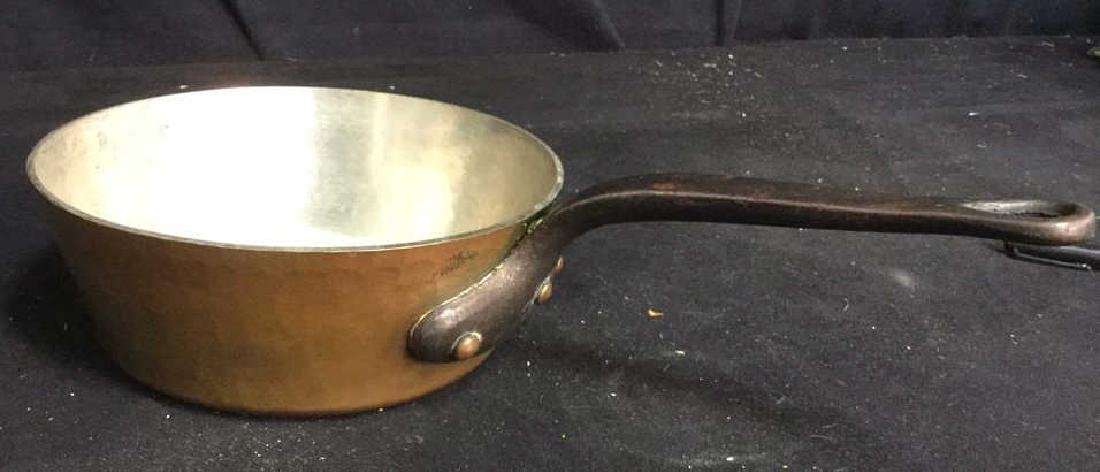 French Copper and Cast Iron Pot - 2