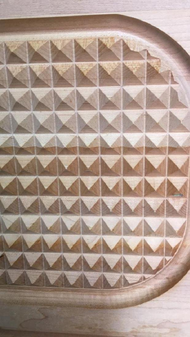 ANGUS Wood Textured Cutting Board - 7