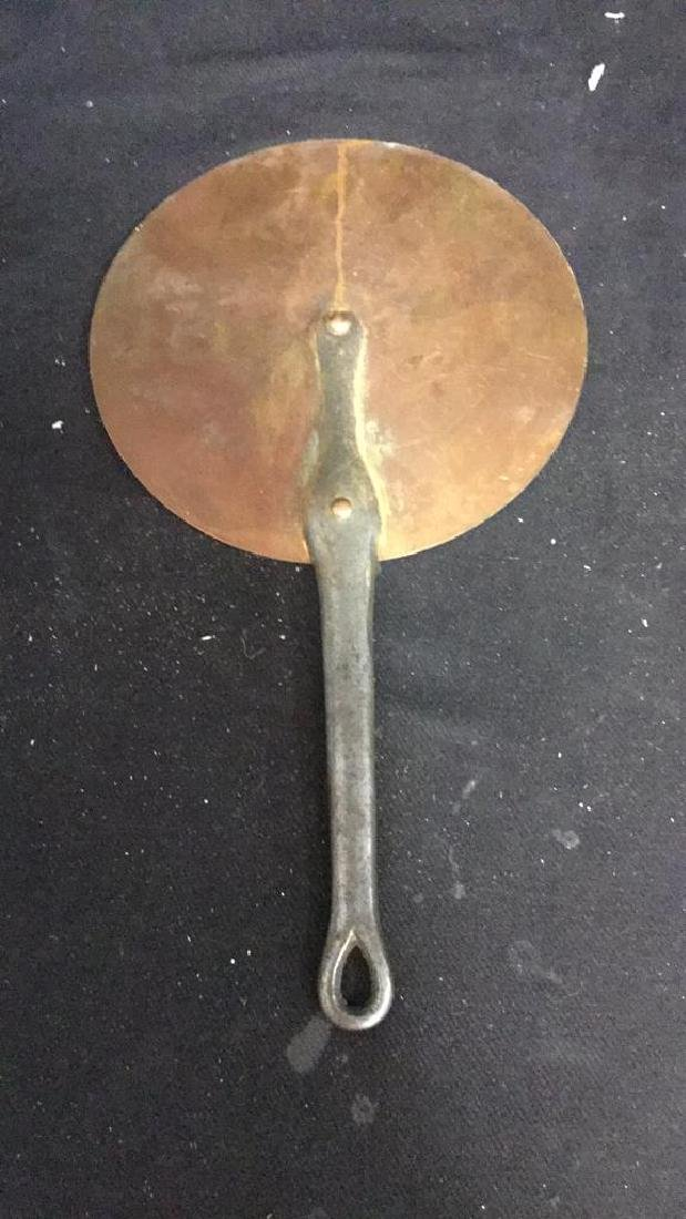 French Copper and Iron Flat Pan