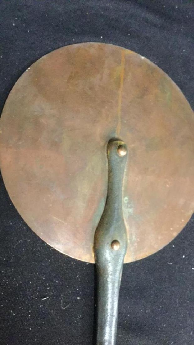 French Copper and Iron Flat Pan - 5