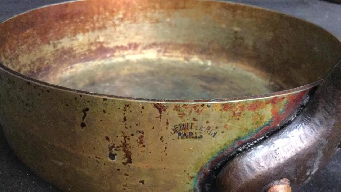 French Copper and Iron Cooking Pot - 7
