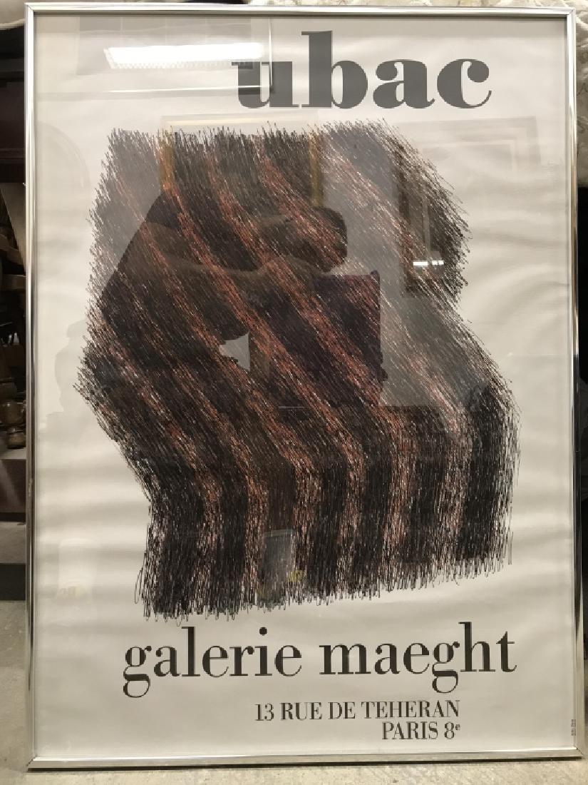 UBAC GALERIA MAEGHT Framed Poster