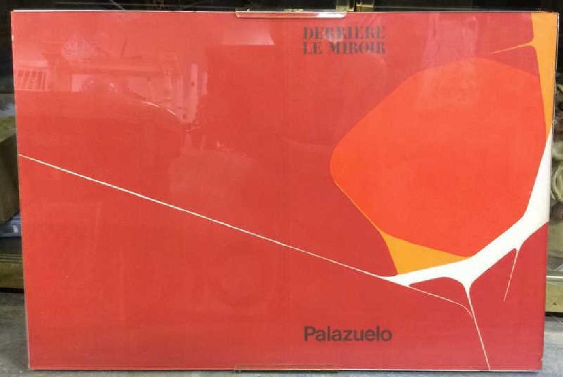 Derriere le Mirror Palazuelo Serigraph Art Print