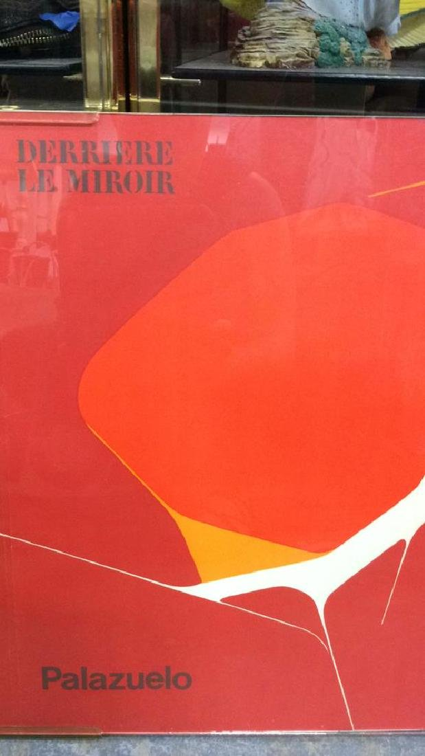 Derriere le Mirror Palazuelo Serigraph Art Print - 3