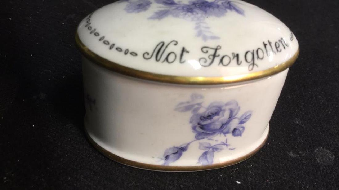 3 Group Lot  Lidded Trinket Pill Boxes - 10