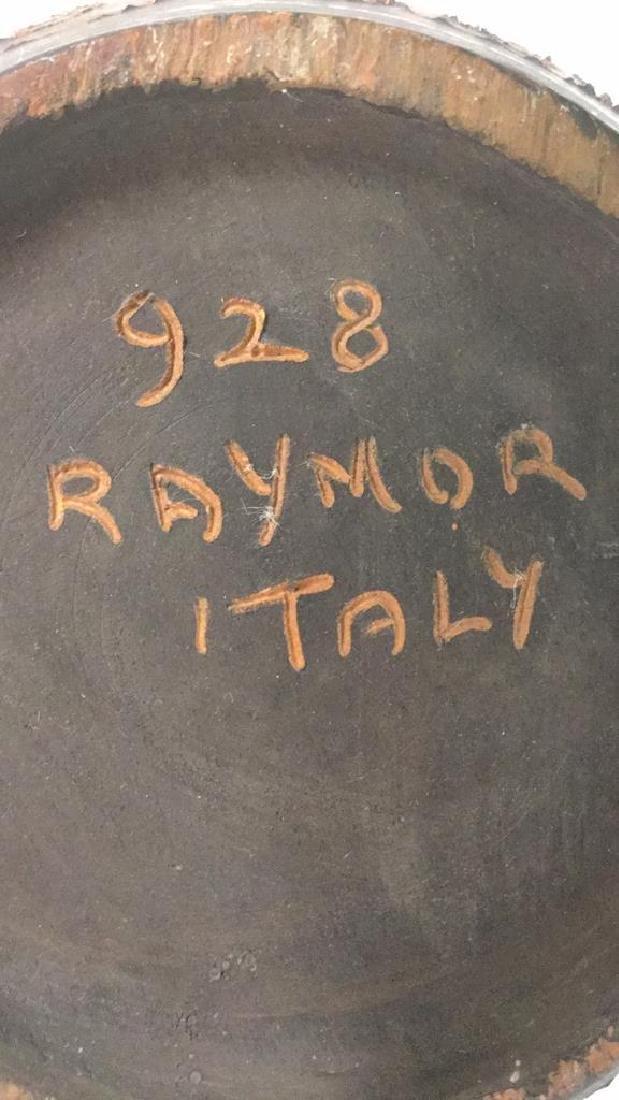 RAYMOR ITALY Signed Ceramic Vase - 8