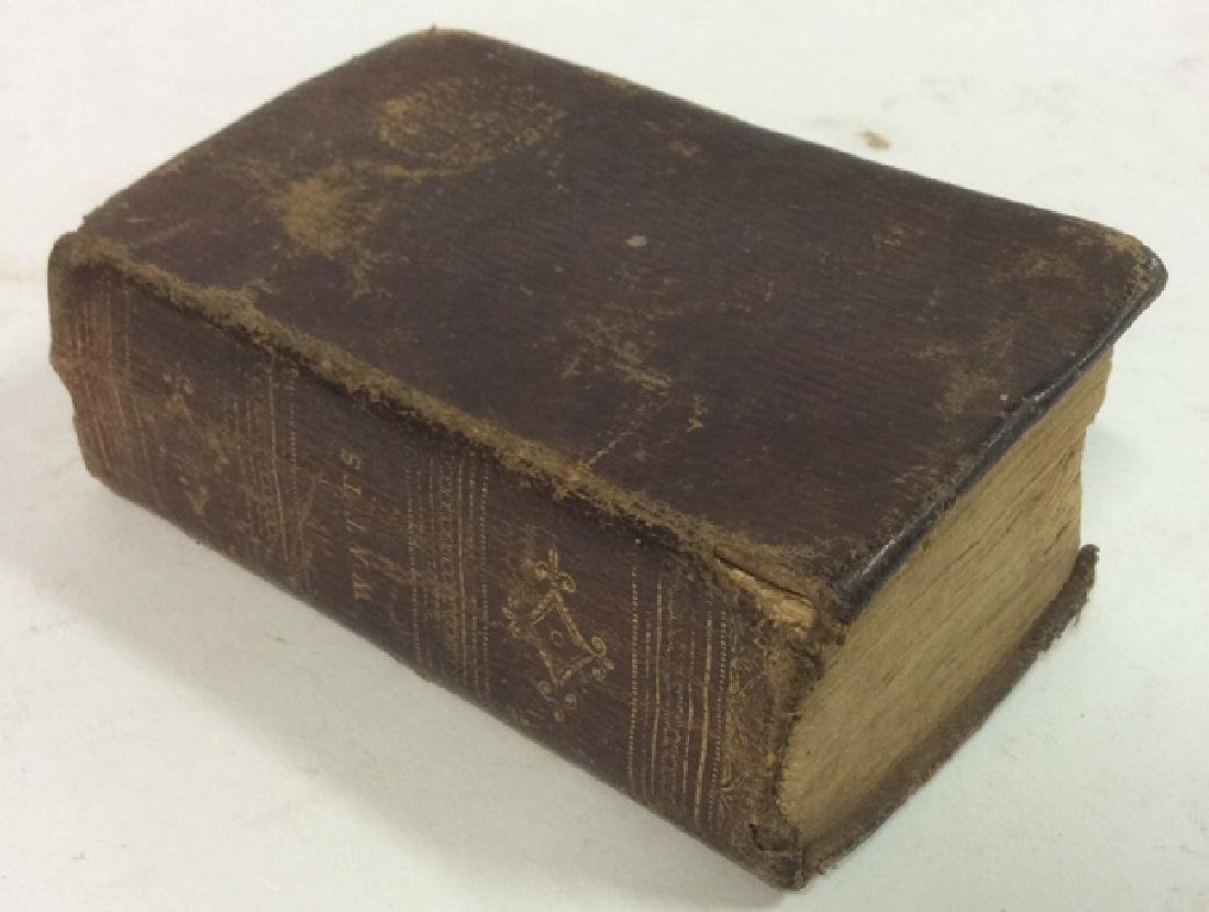 Antique Tiny Leather Bible, 1823