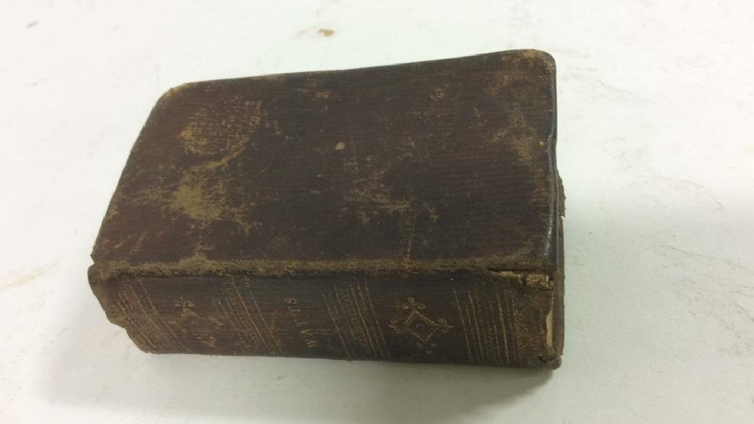 Antique Tiny Leather Bible, 1823 - 2