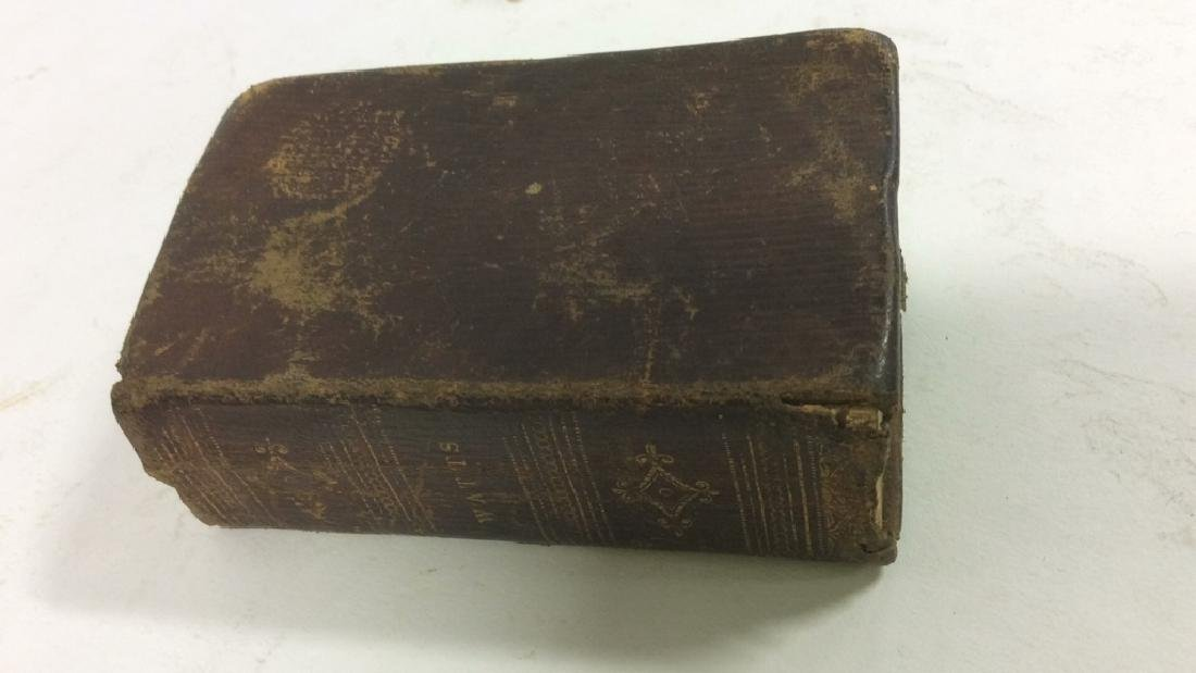Antique Tiny Leather Bible, 1823 - 3