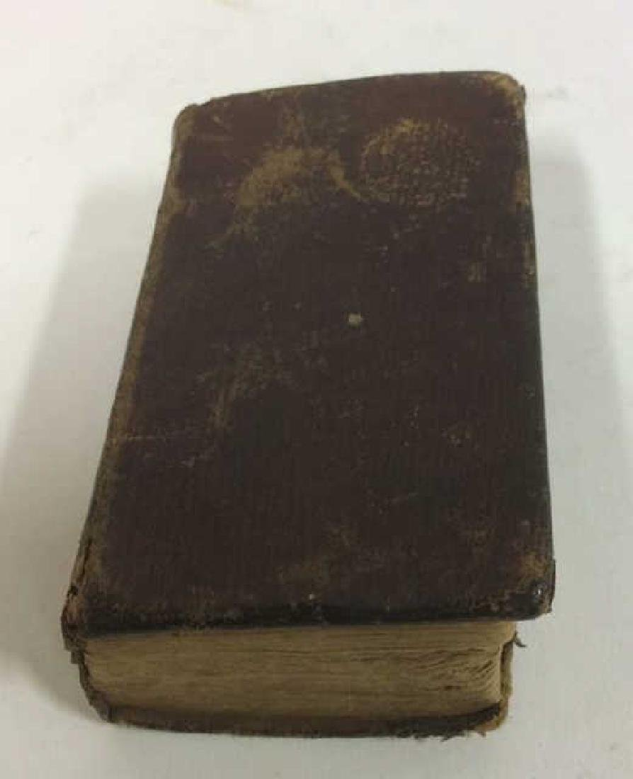 Antique Tiny Leather Bible, 1823 - 4