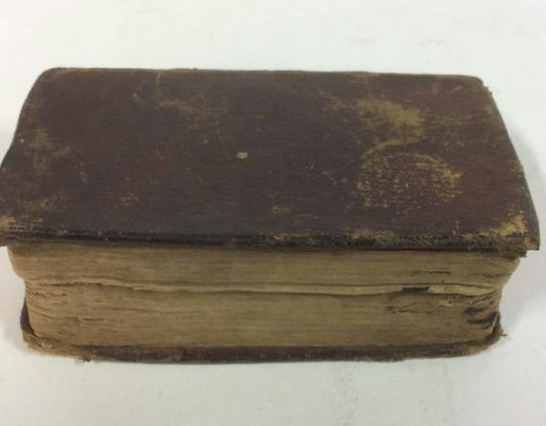 Antique Tiny Leather Bible, 1823 - 5