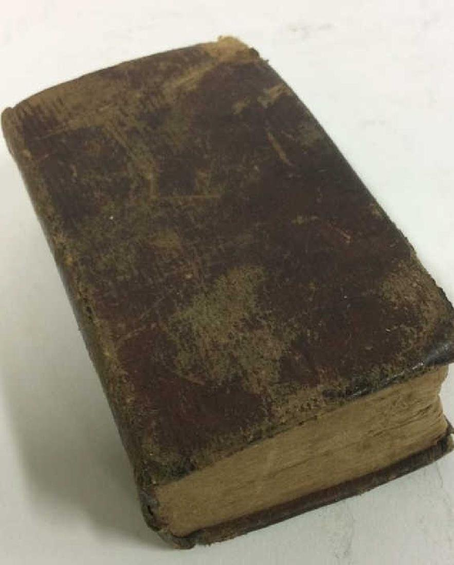 Antique Tiny Leather Bible, 1823 - 7