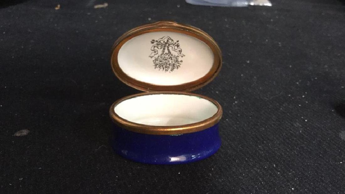 Group 3 Hinged lidded pill Boxes, - 3