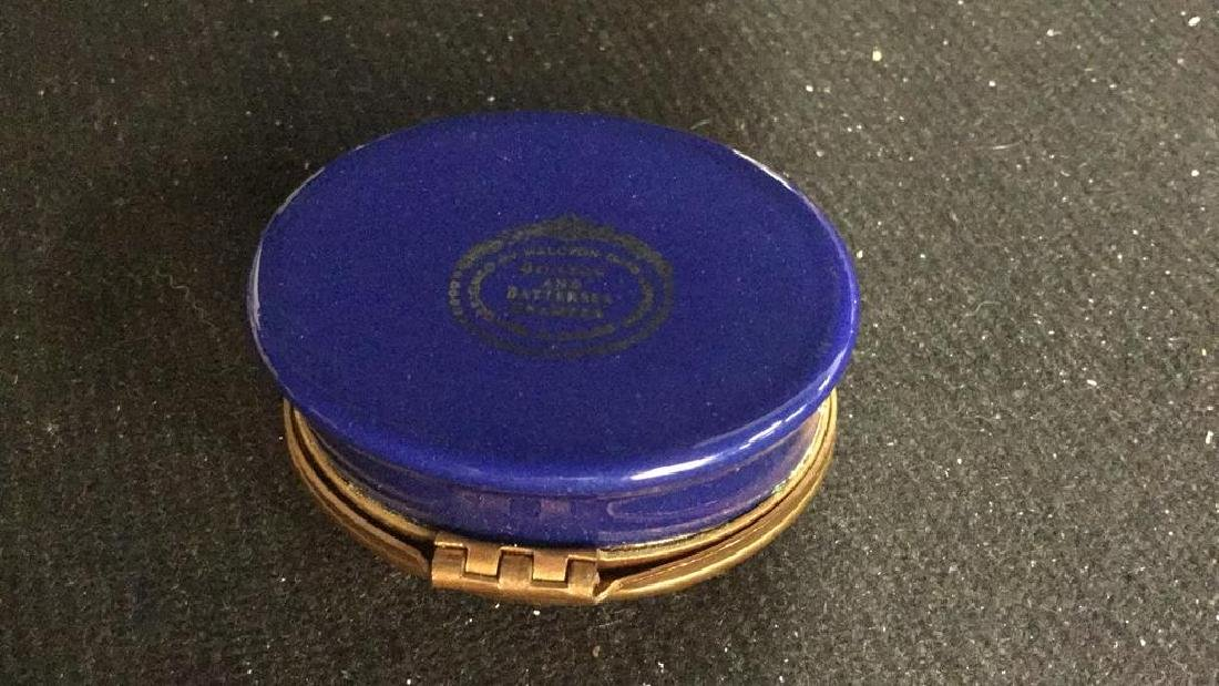 Group 3 Hinged lidded pill Boxes, - 4