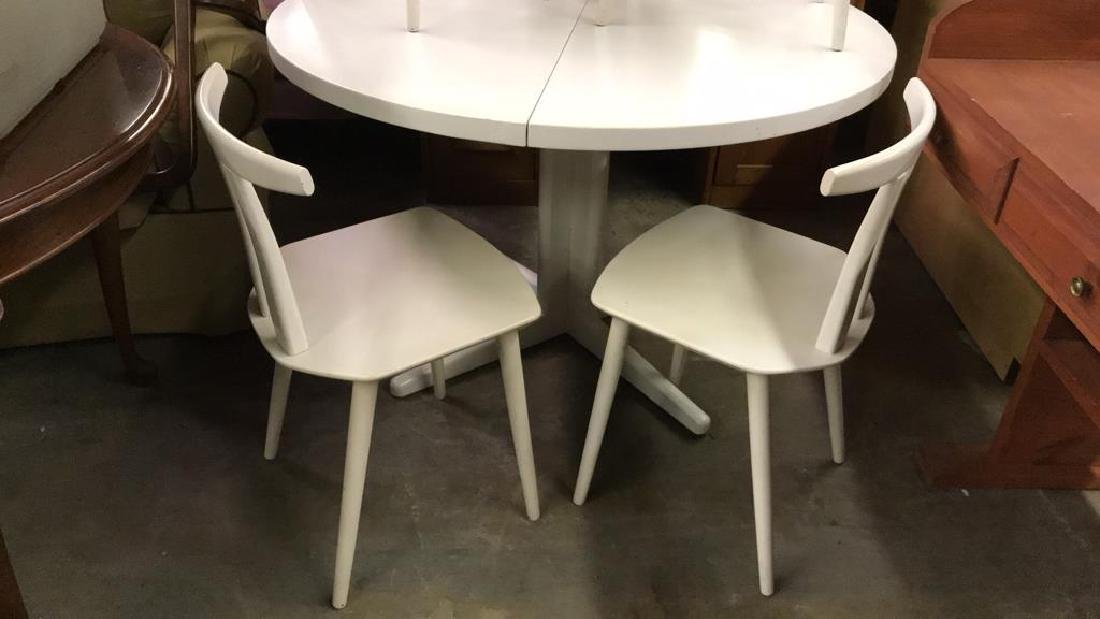 Set 5 MOBLER Denmark Table W Chairs - 2