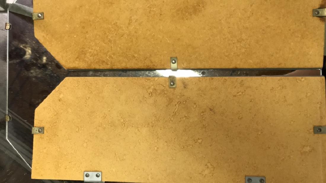 Skirted Vanity Table W Mirror Top - 5