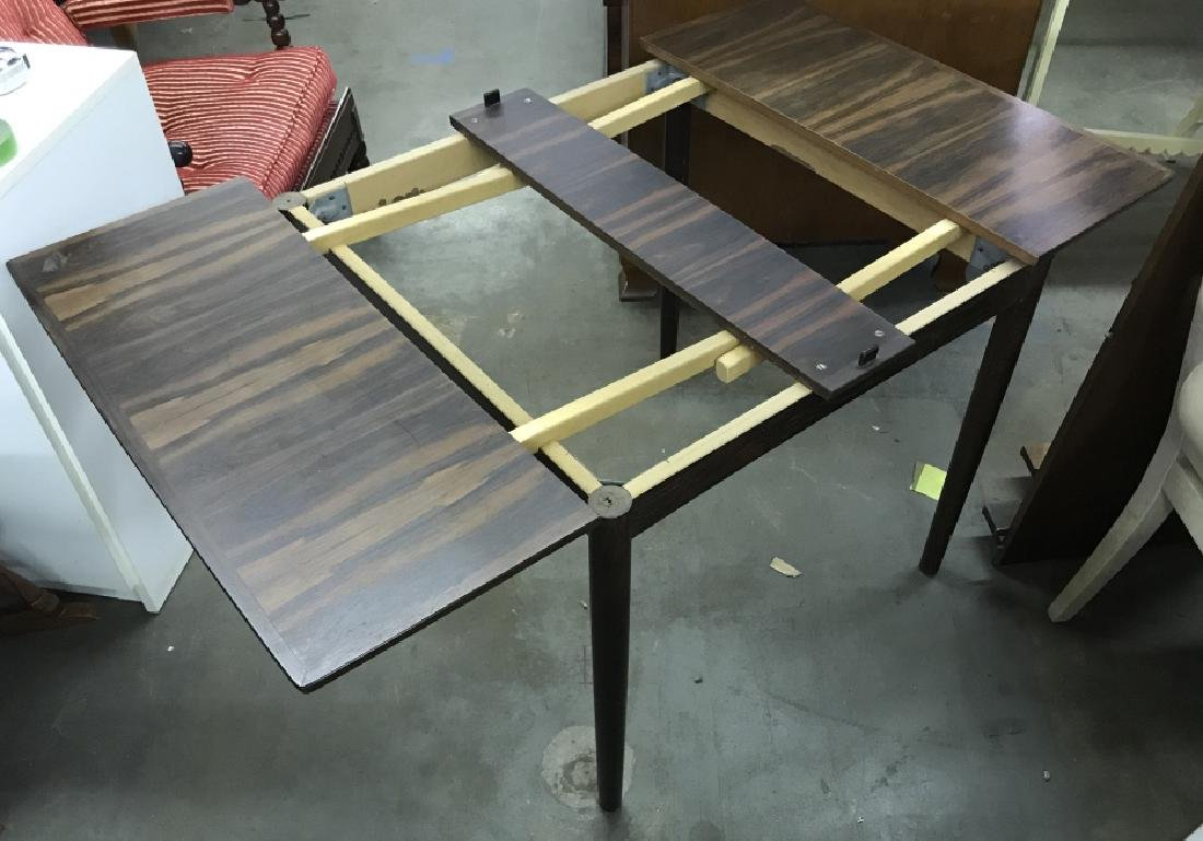 Wooden Folding Card Table Set - 7