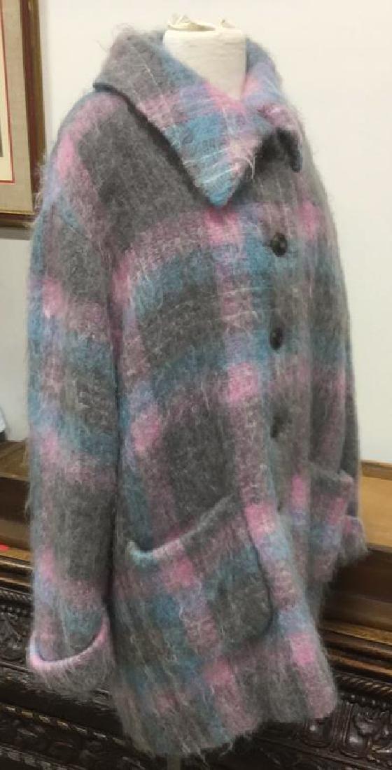 HAUBER FASHION GERMAN Mohair Coat