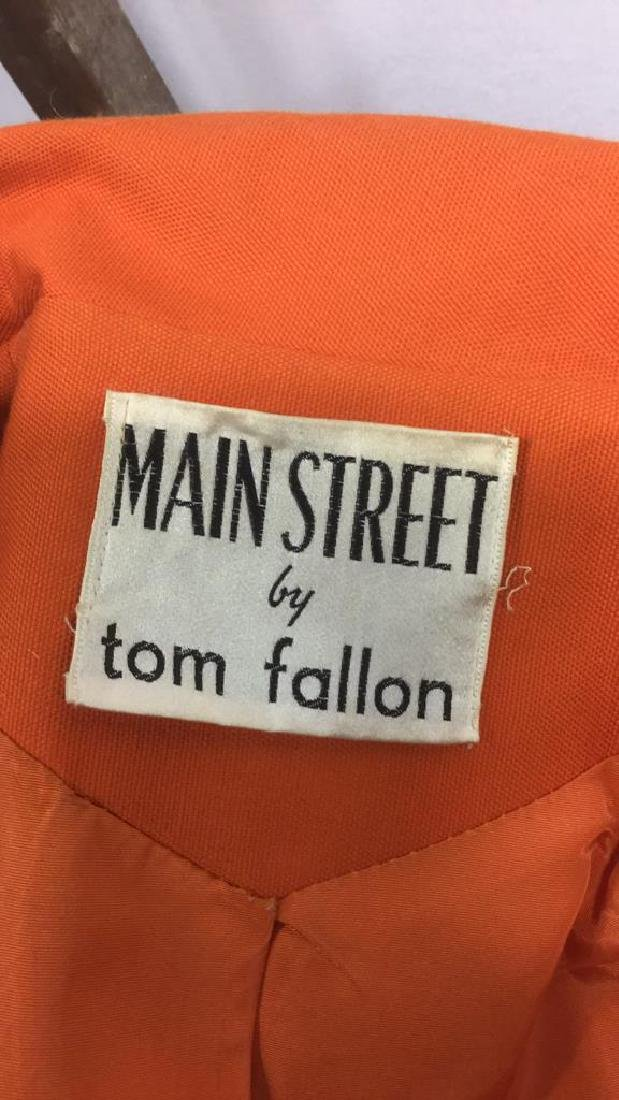 MAIN STREET By Tom Fallon Coat with Belt - 8