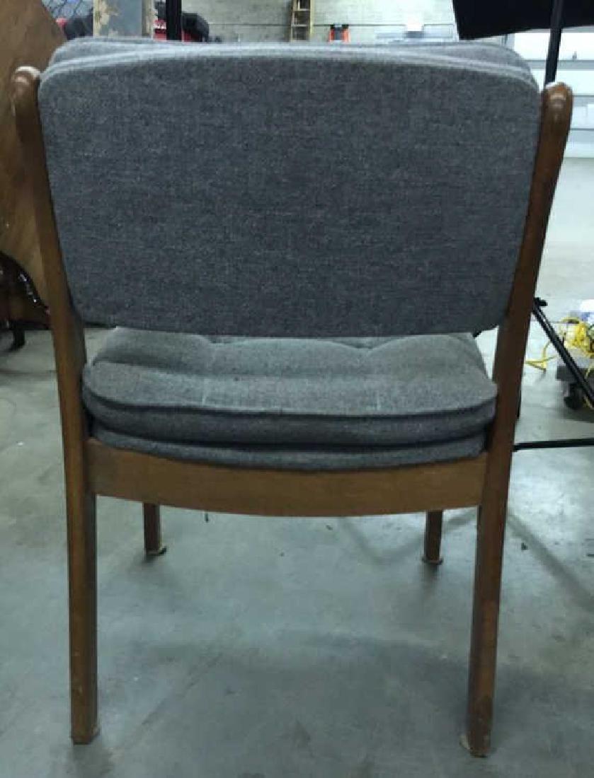 Pr Mid Century Danish Modern Arm Chairs - 8