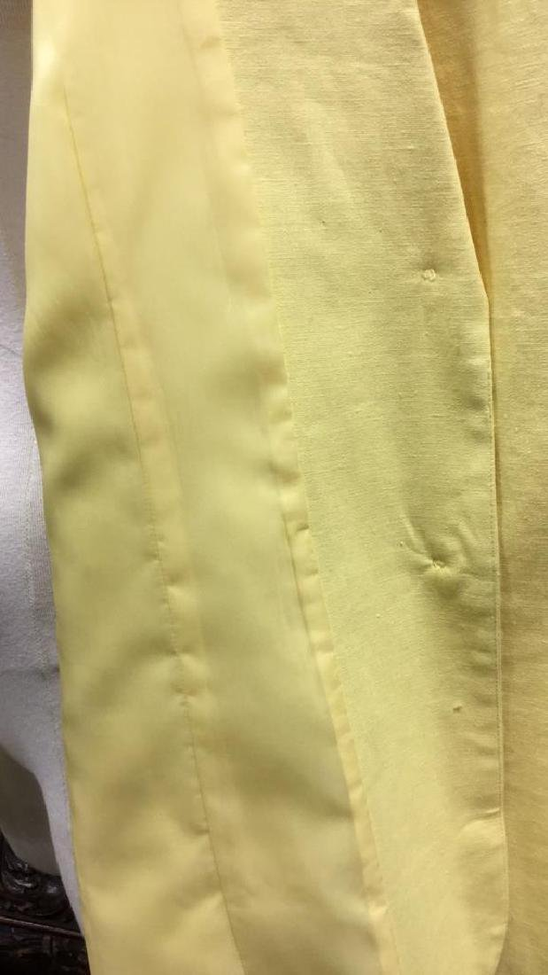 Yellow Toned Jacket with Padded Shoulders - 7