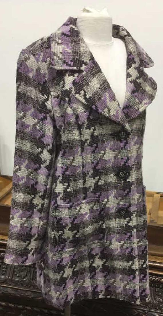 TRIBAL INC. Collared Knit Coat