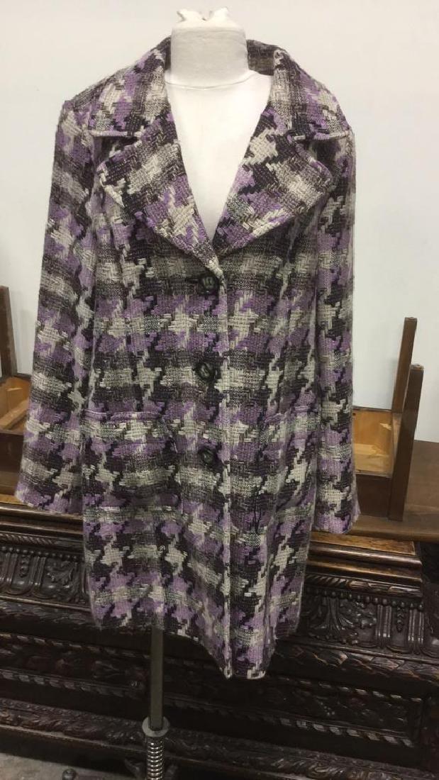 TRIBAL INC. Collared Knit Coat - 2
